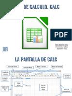 Presentacion Libreoffice Calc