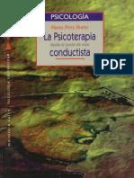 Marino Pérez Álvarez. La psicoterapia desde el punto de vista conductista.pdf