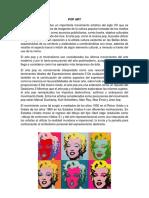 Subrrealismo Moderno Teachismo Op Art Pop Art