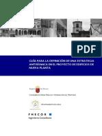 Guía Estrategia Antisísmica en El Proyecto de Edificios de Nueva Planta