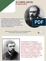 Henri Póincare Biografia
