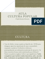 Apresentação Cultura popular + IPHAN