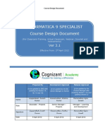 Informatica 9 Specialist Cdd
