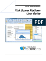 Risk Solver Platform User Guide