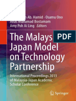 The Malaysia Japan Model on Technology Partnership International Proceedings 2013 of Malaysia Japan Academic Scholar Conference