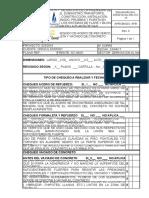 0252016-Cu-re-cv-10-Lista de Chequeo de Acero de Refuerzo, Formaleta y Vaciado de Concreto