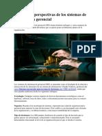 Enfoques y Perspectivas de Los Sistemas de Información Gerencial