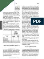 Usp37-Nf32 Gc-661 Containers—Plastics (2014)