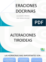 Alteraciones Endocrinas