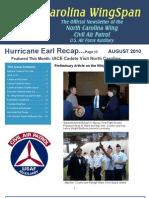 North Carolina Wing - Aug 2010