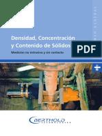 Berthold-Información General-Densidad y Concentración Sólidos