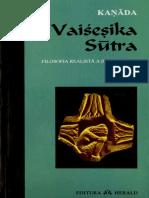 Traducere Din Sanskrită, Introducere, Comentarii Şi Index Sanskrit_ OVIDIU CRISTIAN NEDU-Vaisesika Sutra (Filosofia Realista a Indiei Antice)-Herald