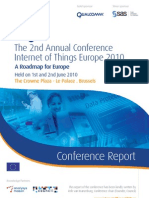 IoT Conference Report 2010