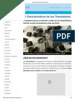 10 Características de Los Transistores