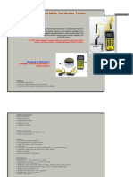 Portable Hardness Tester Specifications