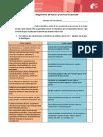 Diagnostico de Lectura y Tecnicas de Estudio