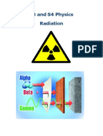 Radiation Summary Notes