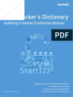 Rapid7 Research the Attackers Dictionary