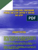 Evaluación Del Informe Final de Los Jutp