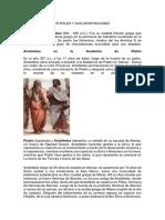 Biografia de Aristoteles y Sus Aportaciones