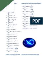 Formulario de Derivadas (Arquimedes1075)