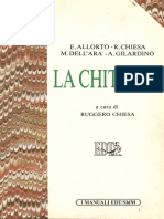 Ruggero Chiesa Gilardino Dell'Ara Allorto - La Chitarra (Trattato)