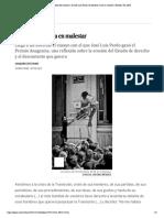 Crítica de 'Estudios del malestar', de José Luis Pardo_ El bienestar muta en malestar _ Babelia _ EL PAÍS
