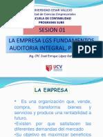 Sesion 01 La Empresa Lgs Fundamentos Auditoria