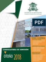 Convocatoria Uache Lic Ing 2018