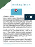 Caso de campaña de marketing - Pepsi