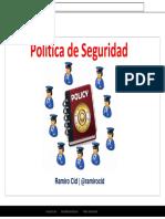 Presentacion Basica Polticadeseguridad