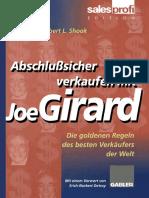 Seguro Vender Con Joe Girard, Las Reglas de Oro Del Mejor Vendedor Del Mundo