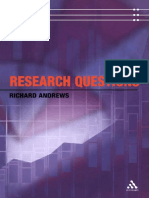 Andrews, Research Questions