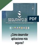 Segurinfo2013 Seg Desarrollo Software Ardita Stock