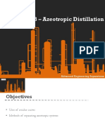 Azeotropic Systems in Distillation