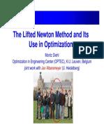 Lifted Newton Optimization
