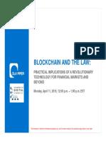 Block Chain Web in Ar Presentation