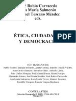 Ética, Ciudadanía y Democracia