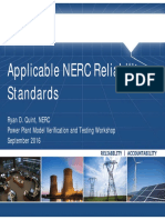 Applicable NERC ReliabilityStandards