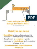 SEGURIDAD EN EL MANEJO DEL PUENTE GRUA