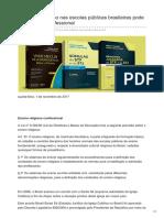 Dizerodireito.com.Br-O Ensino Religioso Nas Escolas Públicas Brasileiras Pode Ter Natureza Confessional