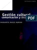 Gestion Cultural Comunicacion y Desarrollo