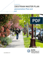 Pedestrian Master Plan Implementation Plan