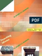 Teaching Idioms(8April2014)
