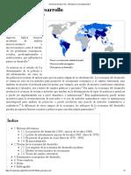 Economía Del Desarrollo - Wiki