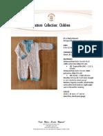 Knitting childs onesie