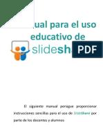 3. Manual Para El Uso Educativo de Slideshare