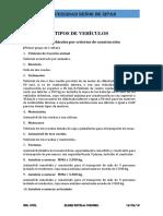 Tipos de Vehiculos