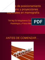4. Técnicas de Posicionamiento Mamario y Proyecciones Especiales