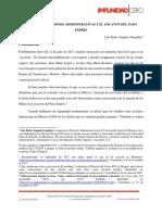 Informe impunidad - Primer parte - Socavon Paso Exprės